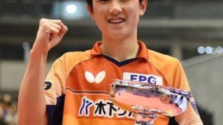 水谷10度目の優勝目指すも、、、新王座に張本智和 最年少で頂点へ