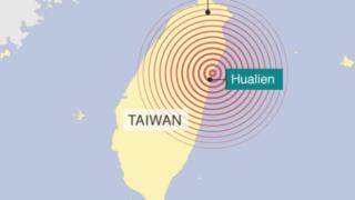 【台湾東部】M6.4地震、140人以上と安否確認が取れず