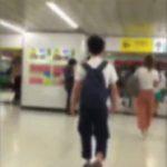 新宿駅で偶然撮影された「タックル男」の特徴について&同様の体験談