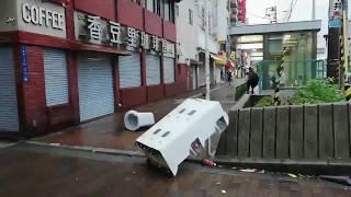 神戸・大阪・京都、エグイ台風21号の被害状況、爪痕が余りにも無残すぎる!