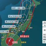 台風21号、今年最強クラスに西日本で運転休止相次ぐ早めの避難準備、経路の確認を!